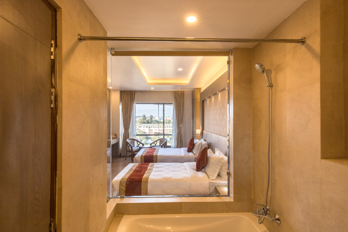 Twin Bed Room